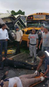 Seis heridos accidente Bavaro