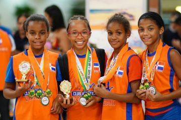 Niños de RD ganan competencia internacional de atletismo en PR
