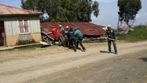 Medio Ambiente  desmantela viviendas abandonadas en Valle Nuevo