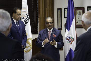 César Mella es integrado al Patronato del HGPS