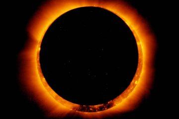 Salud Pública llama a la población a no mirar directamente al sol durante el  eclipse solar de este lunes
