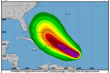 Evacuaciones empezarán este martes por llegada de huracán María