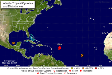 Puerto Rico declara estado de emergencia, suspende clases y jornada laboral por el paso del huracán Irma