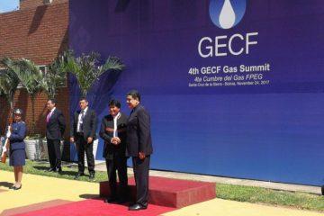 El presidente  de Venezuela Nicolás Maduro llega a Bolivia para asistir al IV foro del gas