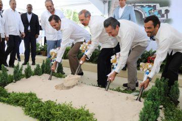 Danilo Medina da primer palazo a construcción hotel en Punta Cana