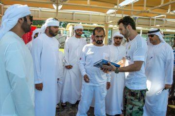 Príncipe Karim se reúne con el Rey de Dubái para campaña 2020