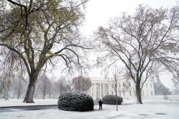 Tormenta de nieve en Washington paraliza al Gobierno de Estados Unidos
