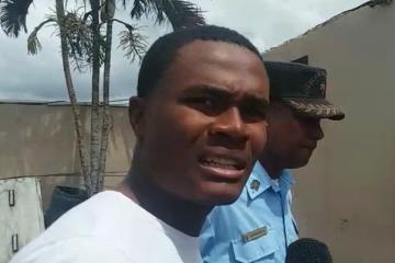 Envían a la cárcel de La Victoria a raso acusado de matar al estudiante