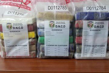 DNCD decomisó 37 paquetes de drogas y detiene un hombre en Distrito Nacional