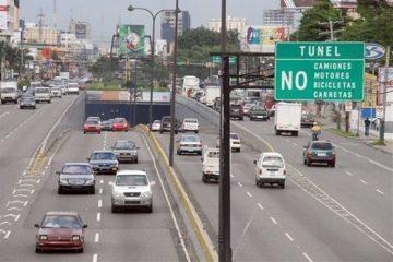 Ministerio de Obras Públicas cerrará a partir de hoy varios túneles y elevados