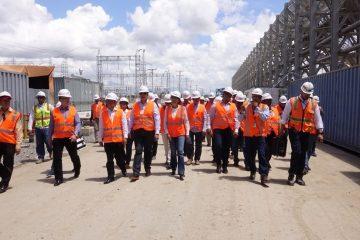 Punta Catalina avanza más de un 89 %; senadores visitan proyecto