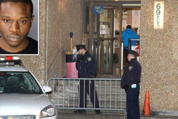 Preso arranca dedo de mordida a policía y se lo traga en cuartel de Brooklyn