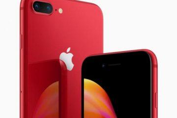 Apple lanza la edición en rojo del iPhone 8