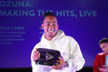 Ozuna recibe botón de diamante de YouTube en la semana de la música latina de Billboard
