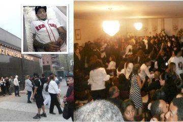 Cientos despiden restos de empresario asesinado en Bonao en funeraria del Alto Manhattan