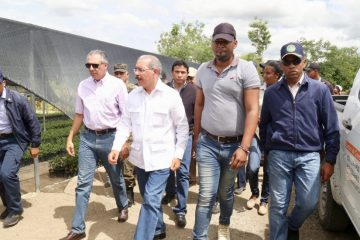 Presidente Medina regresa a la frontera en pos de mejorar las condiciones de vida en la zona