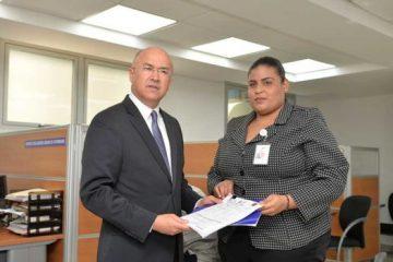 Domínguez Brito presentó declaración de bienes ante CCRD