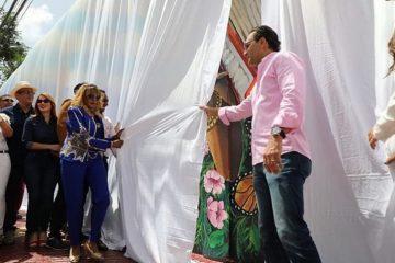 Alcaldía de Santiago hace mural en honor a Fefita La Grande