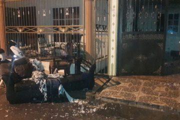 Policía apresa hombre por quemar vivienda en Castillo