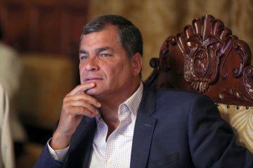 Corte Nacional pide captura de expresidente Correa