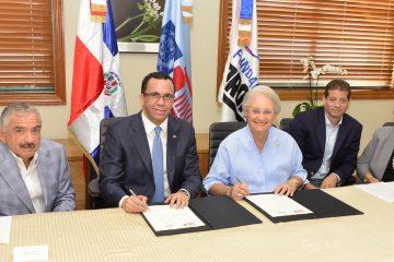 Ministerio de Educación y la Fundación Propagas firman acuerdo de cogestión y colaboración interinstitucional