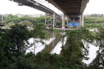 Una joven muere tras lanzarse del puente Juan Bosch