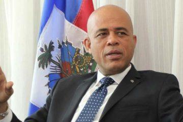 Familia del expresidente llega a RD tras protestas en Haití