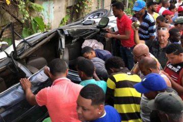 Mueren cuatro personas en un accidente de tránsito