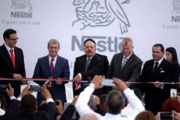 Danilo encabeza inauguración de planta Nestlé en San Francisco de Macorís