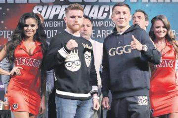 Álvarez y Golovkin prometen una pelea que será inolvidable