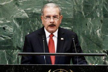 Danilo pide unión de naciones contra el narcotráfico y el cambio climático