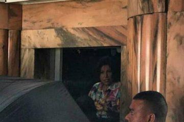Margarita Cedeño se quedó atrapada por nueve minutos en un ascensor