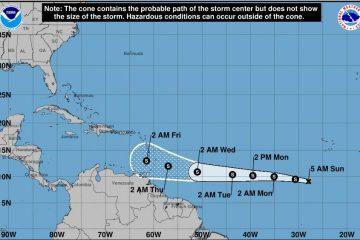 La depresión tropical Kirk se disipa y se descontinúan las alertas