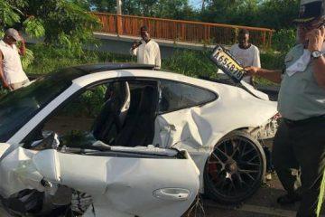 Sobrino del empresario Frank Rainieri sufre aparatoso accidente en Autovía del Este