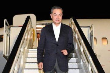 Llega al país el canciller de la República Popular China, Wang Yi