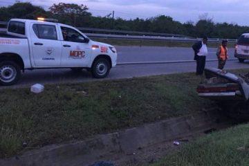 Un muerto y cinco heridos durante accidente en la autovía del Este