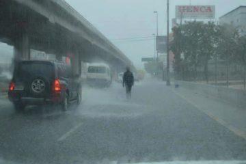 Onamet asegura que continuarán aguaceros en varias localidades por efectos de vaguada