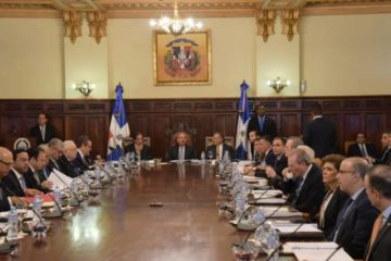Presidente Medina preside reunión del Consejo Nacional de la Competitividad