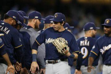 Cerveceros embriagan a Dodgers y ponen serie de campeonato a su favor
