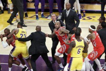 La NBA suspende a Ingram, Rondo y Paul por pelea