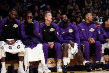 Los Lakers de LeBron no carburan