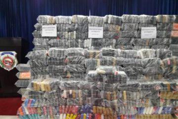 La DNCD ocupa cargamento de 978 kilogramos procedente de Colombia