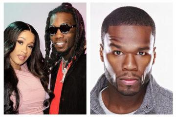 El rapero 50 Cent exhorta a Cardi B que vuelva con Offset