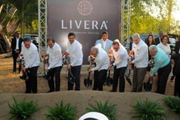 Presidente Medina encabeza acto de inicio de construcción de residencial en Santiago