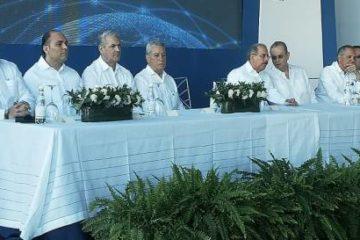 Presidente Medina da inicio a trabajos de ampliación del puerto de DP World Caucedo