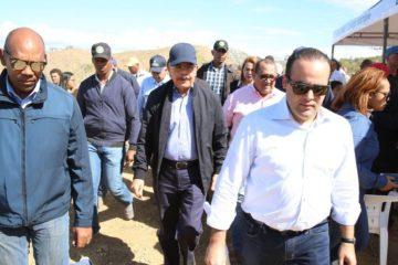 Presidente Medina realiza primera Visita Sorpresa 2019 en Dajabón