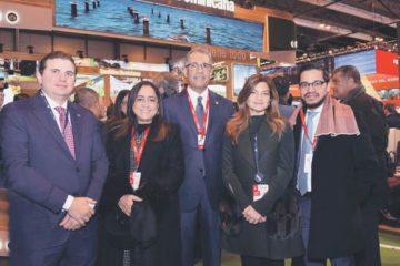 Banreservas se reúne en Fitur con inversionistas