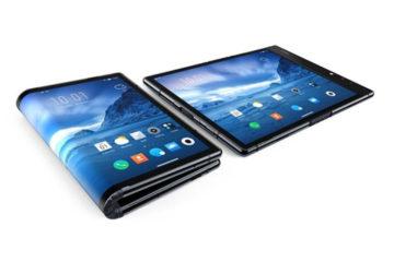 La china Royole muestra el primer 'smartphone' con pantalla plegable en CES