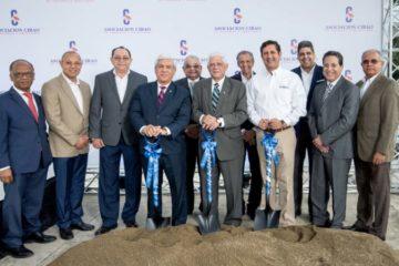 Asociación Cibao inicia construcción de edificio corporativo en Santiago