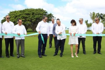 Presidente Medina asiste a puesta en funcionamiento Playa Grande Golf & Ocean Club